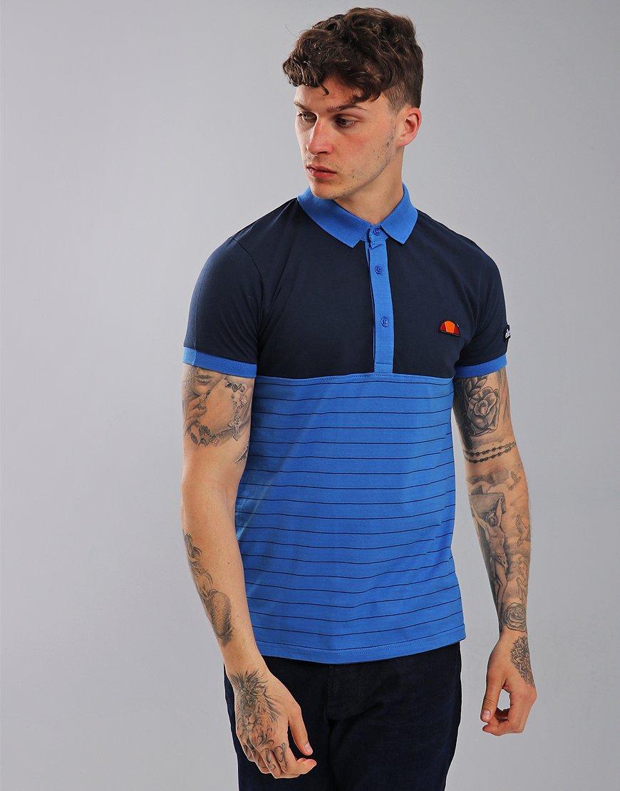 Ellesse Stello Polo Shirt Dress Blues/Cobalt