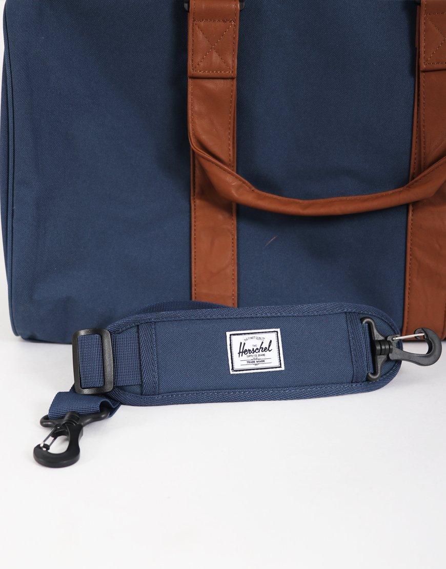8d83cdcc7c Herschel Novel Duffle Bag Navy Tan - Terraces Menswear