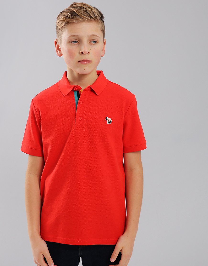Paul Smith Junior Ridley Polo Shirt Red
