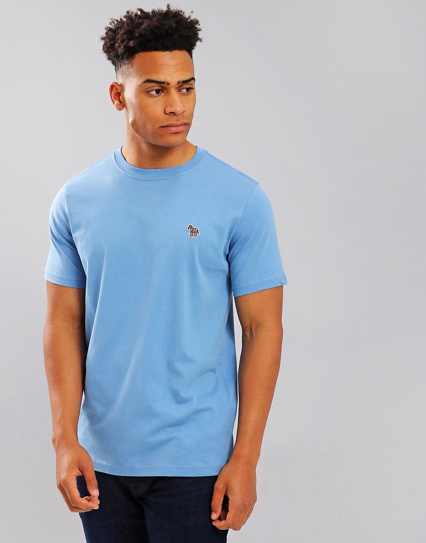 Paul Smith Zebra Logo T-Shirt Turquoise