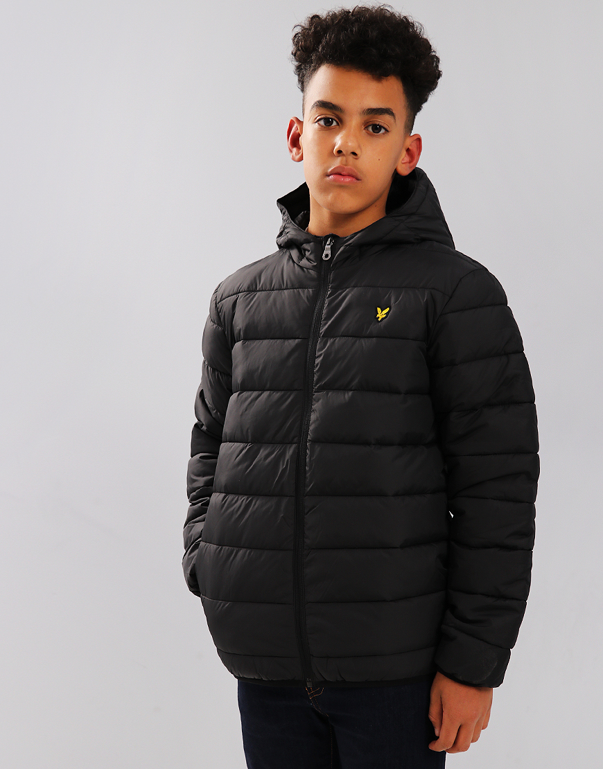 Lyle & Scott Junior Lightweight Puffer Jacket Black