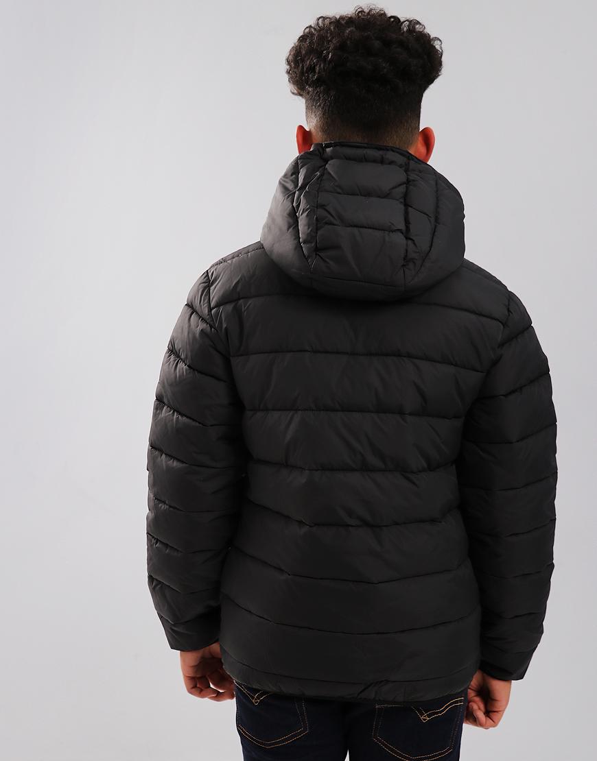 Lyle & Scott Junior Lightweight Puffer Jacket Black