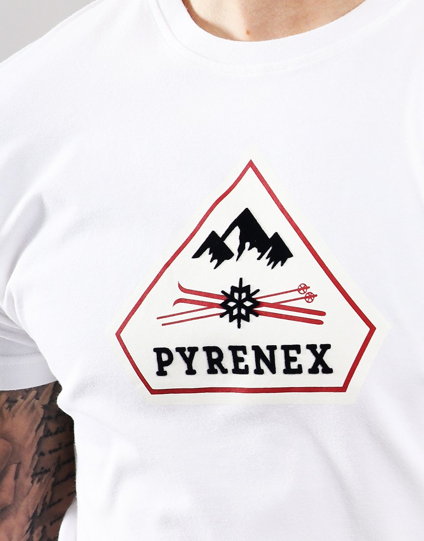 Pyrenex Karel T-Shirt White