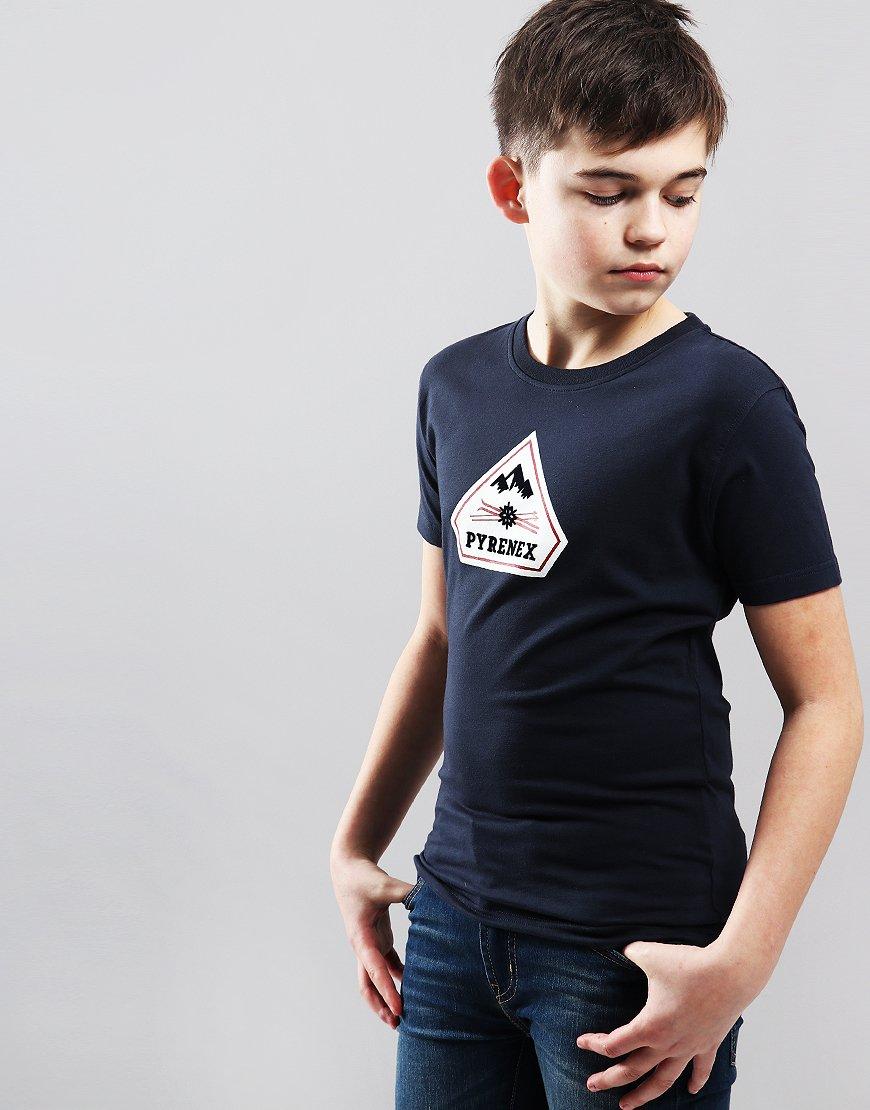 Pyrenex Kids Karel T-Shirt Amiral