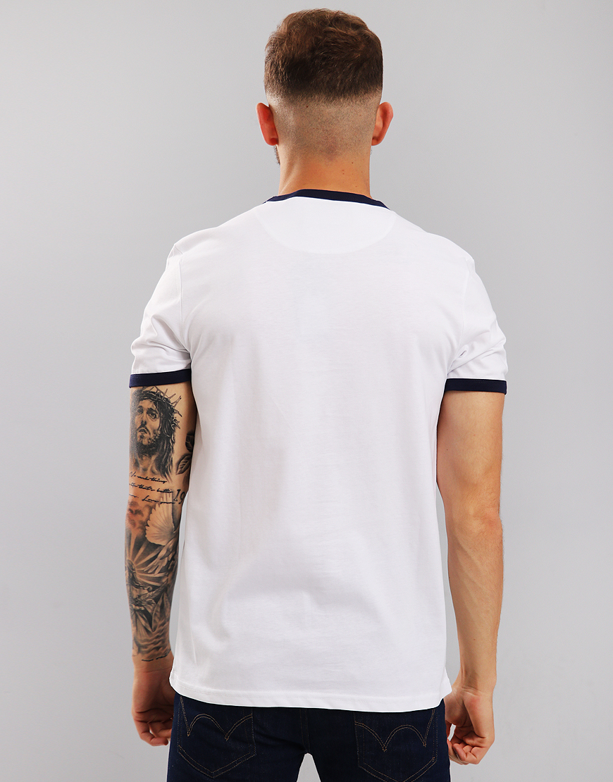 29f6cc8e Lyle & Scott Ringer T-Shirt White - Terraces Menswear