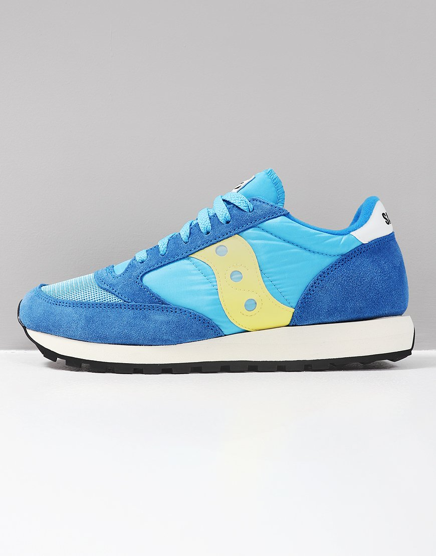 on sale 4c1ac c5e4f Saucony Jazz OG Sneakers Blue/Yellow