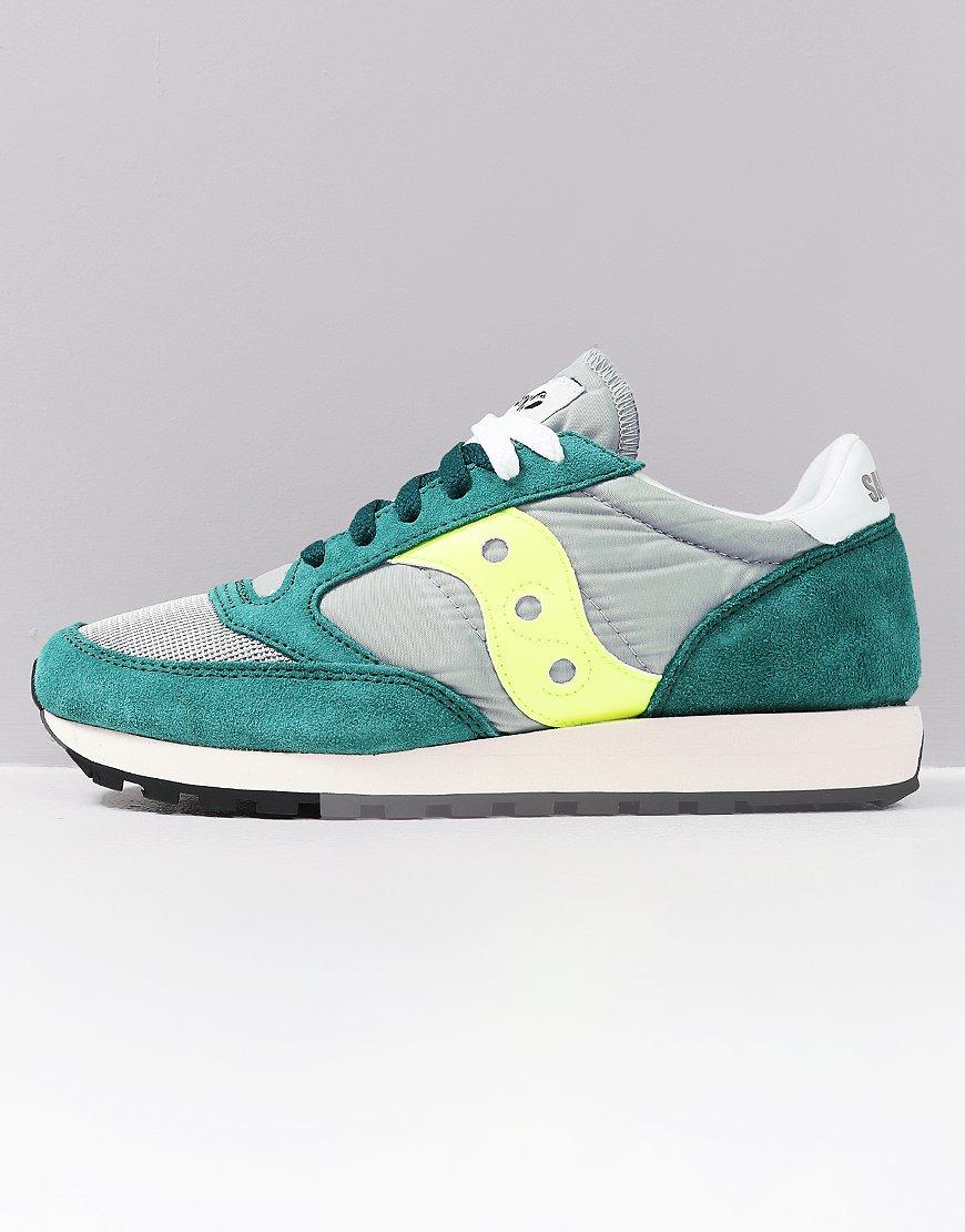 Saucony Jazz OG Sneakers Green/Grey/Neon