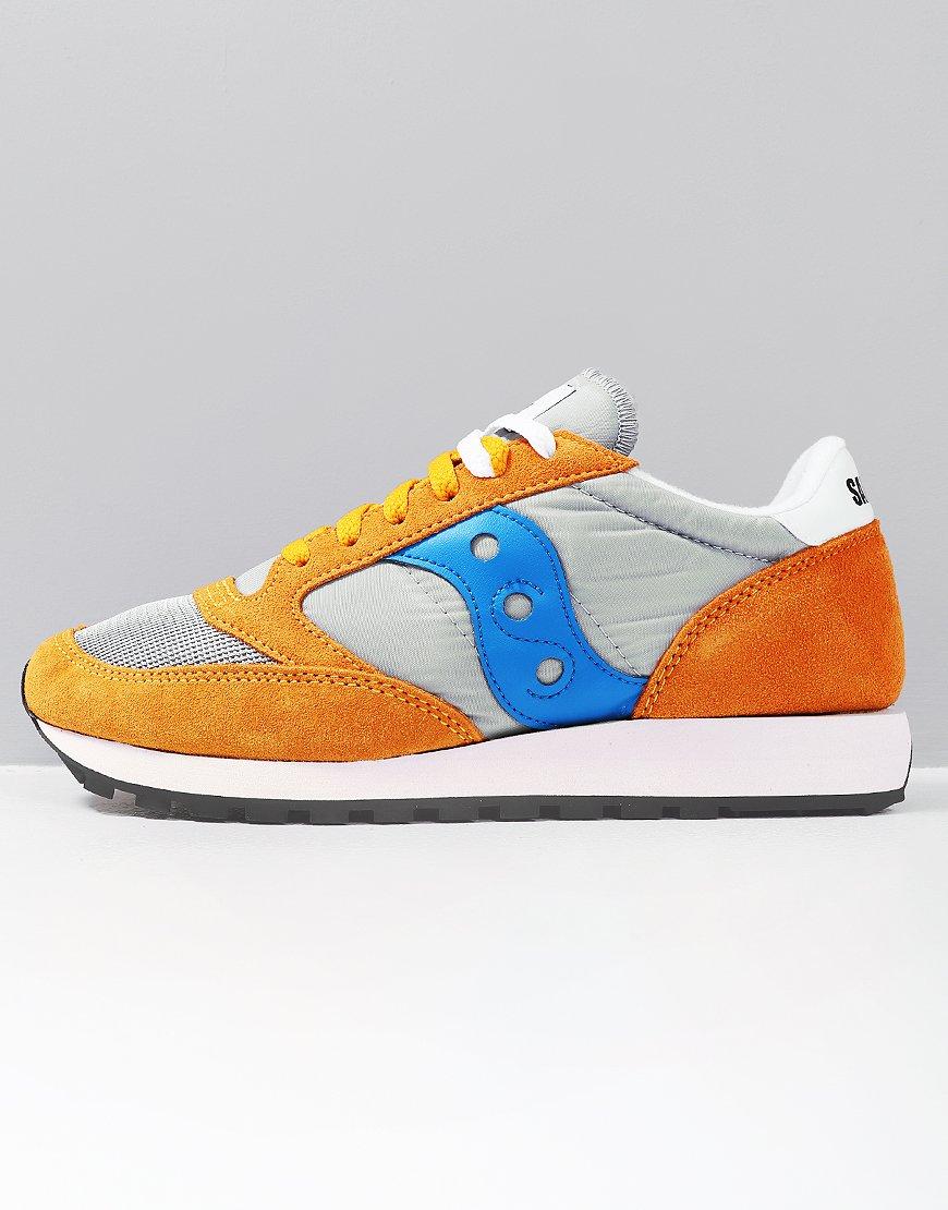 Saucony Jazz OG Sneakers Orange/Grey/Blue