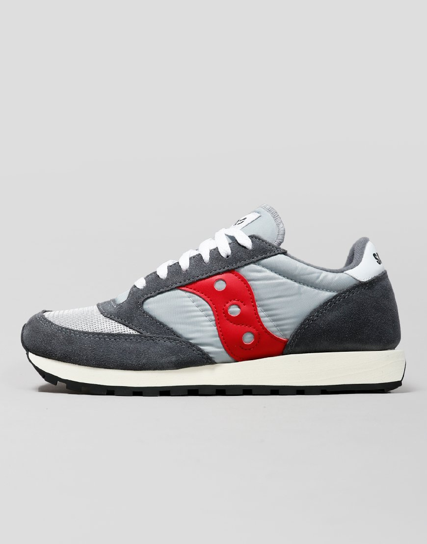 best service 5f355 13c8f Saucony Jazz OG Sneakers Grey/Red