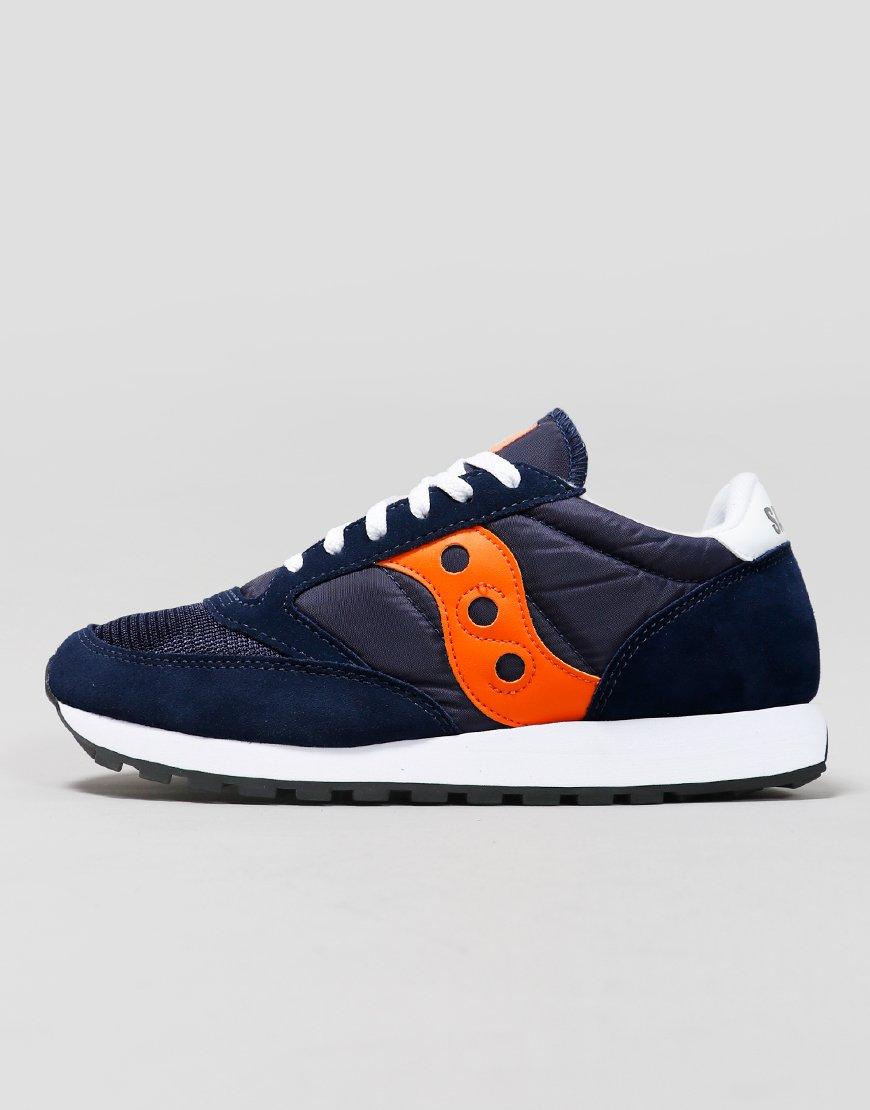Saucony Jazz OG Sneakers Navy/Orange