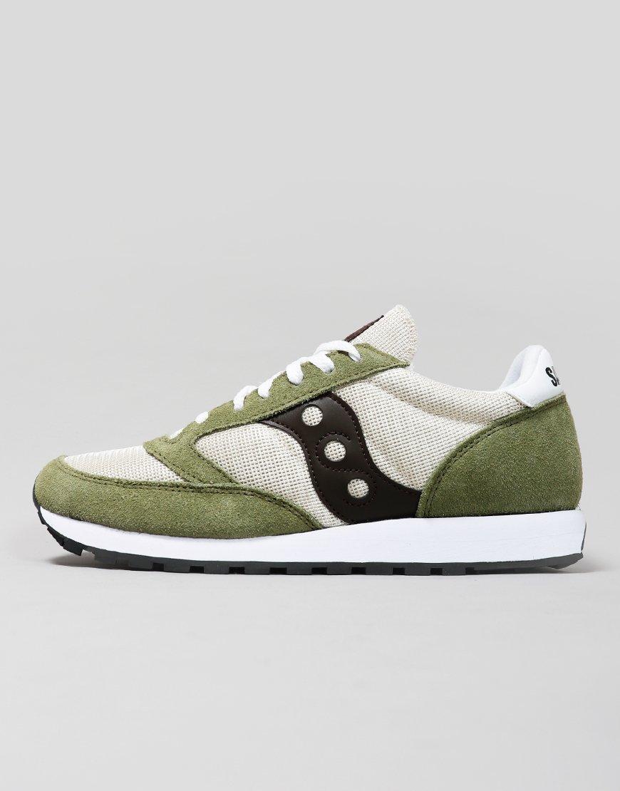 Saucony Jazz OG Sneakers Tan/Olive/Brown