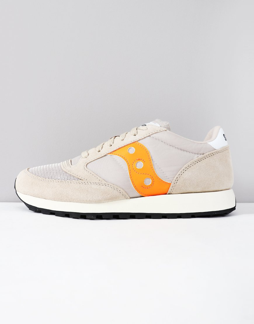 Saucony Jazz OG Sneakers Tan/Orange