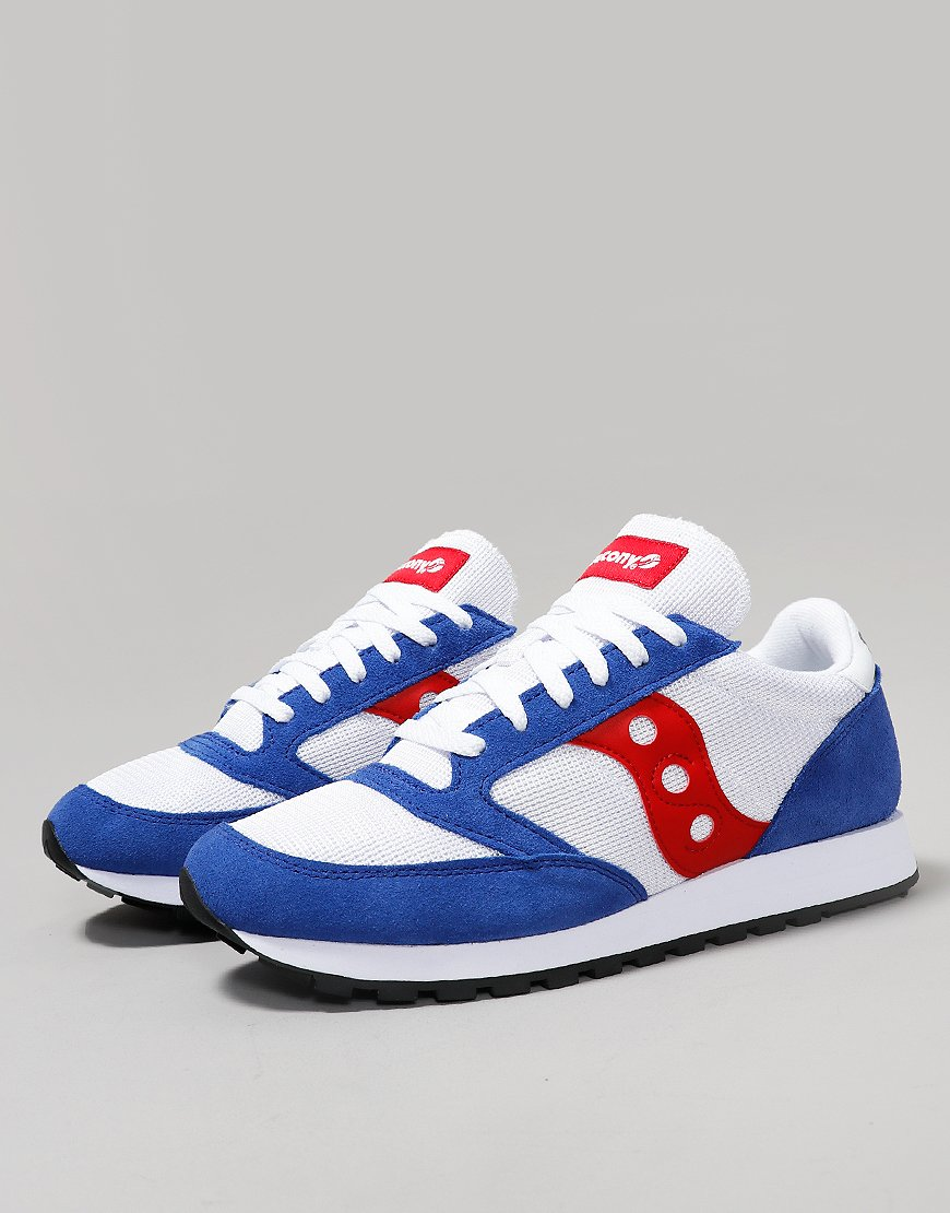 hot sale online 5f8e1 242da Saucony Jazz OG Sneakers White/Blue/Red