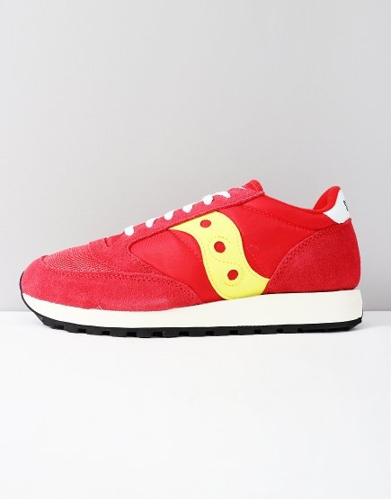 Saucony Jazz OG Sneakers Red/Yellow