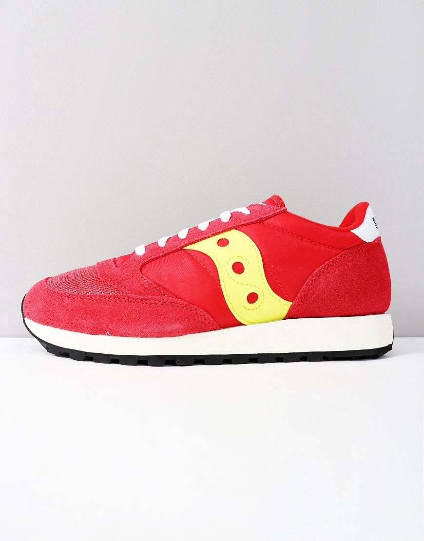 0361db0e670b Saucony Jazz OG Sneakers Red Yellow - Terraces Menswear