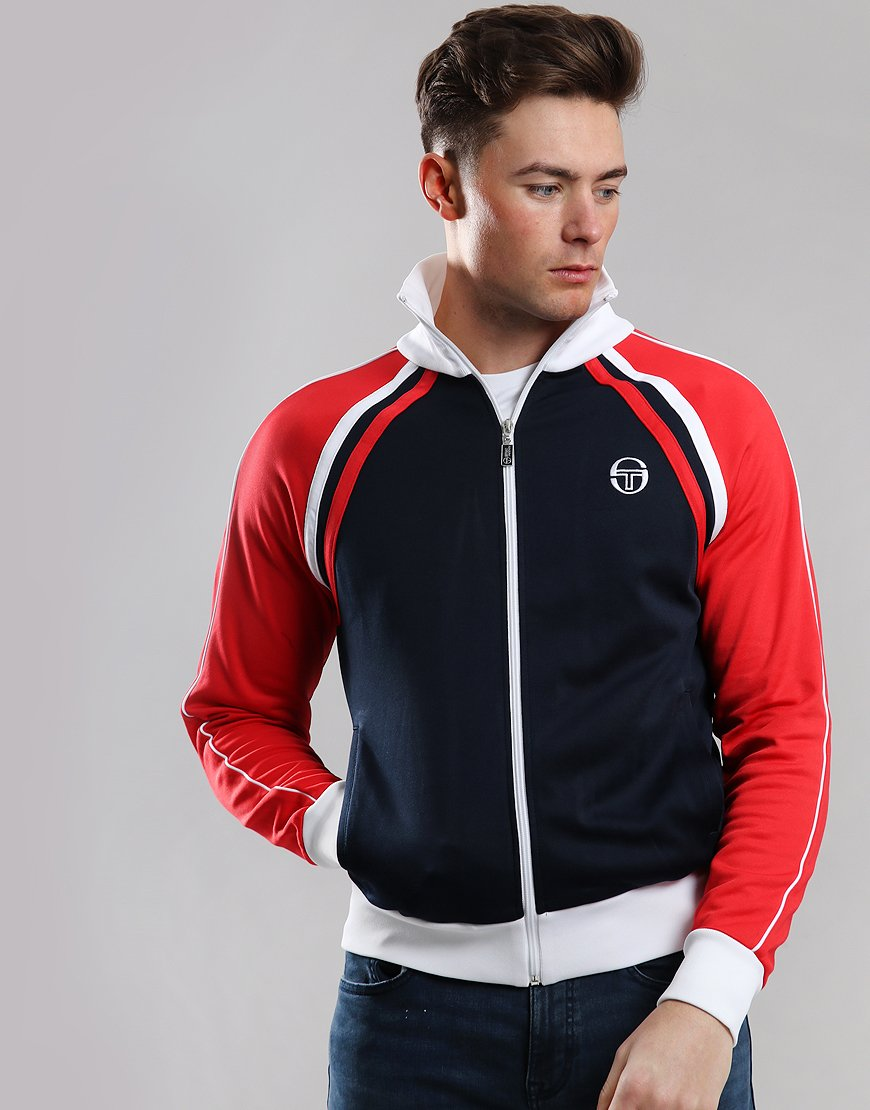 Sergio Tacchini Ghibli Track Top Navy/Red