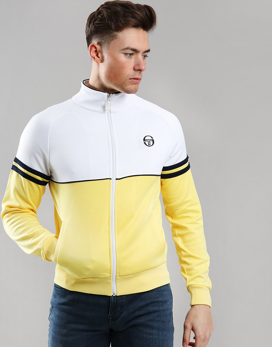 Sergio Tacchini Orion Track Top Light Yellow