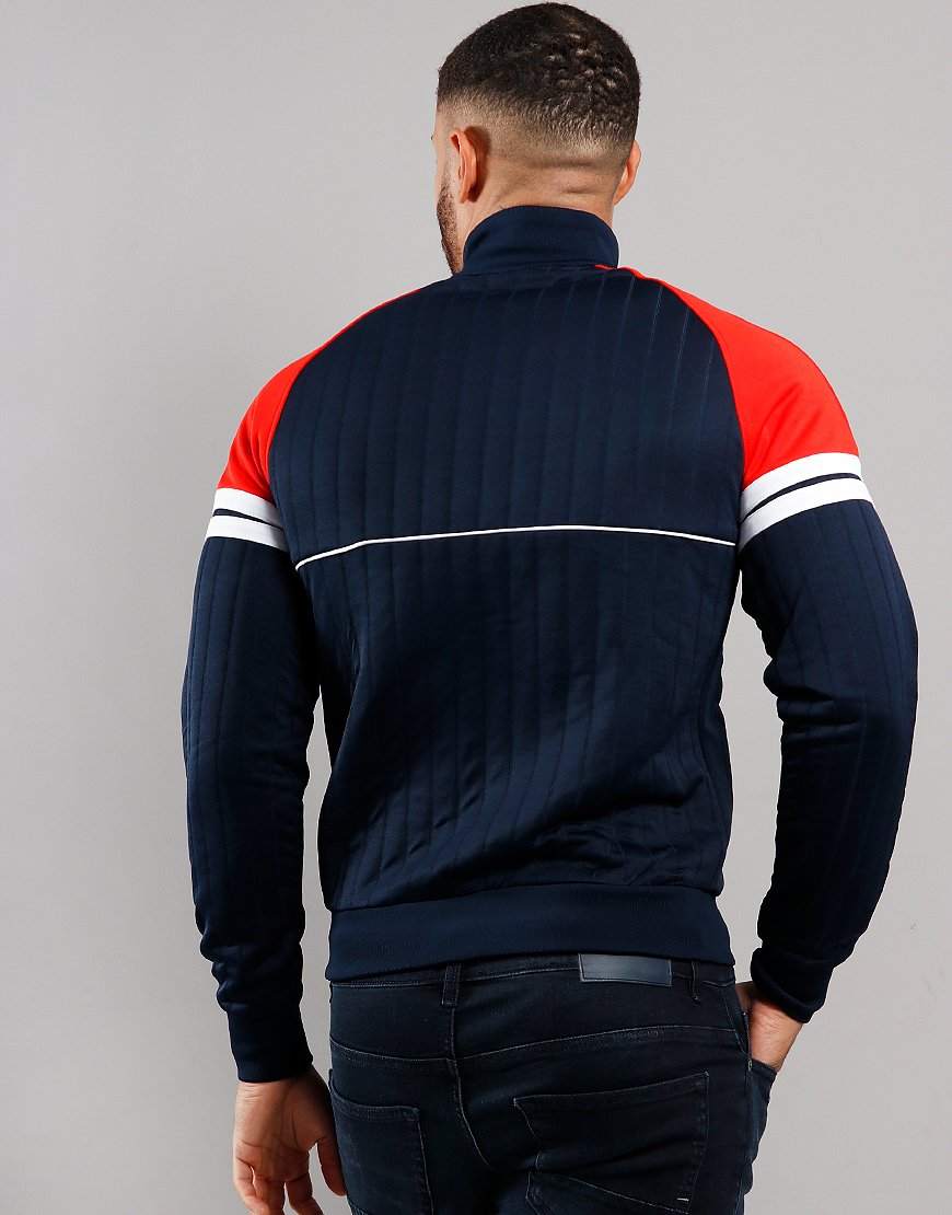 Sergio Tacchini Star Track Top Navy/Vintage Red