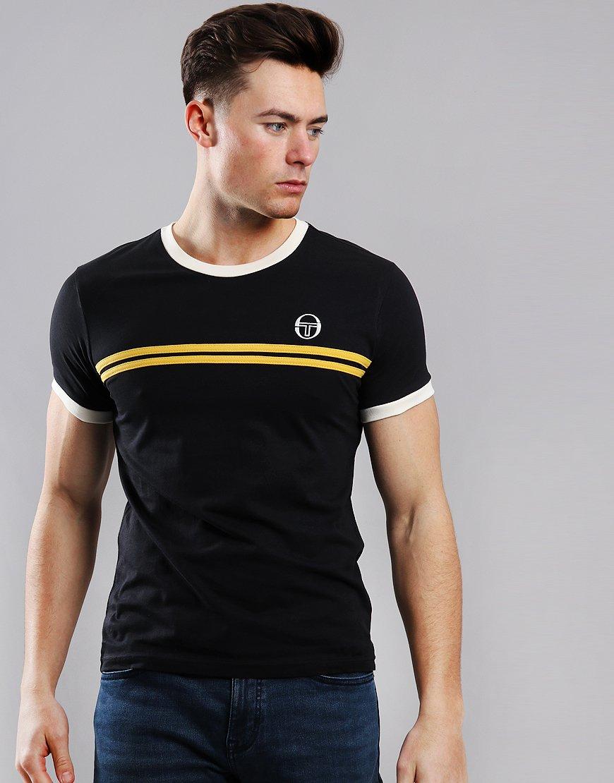 Sergio Tacchini Supermac 3 T-Shirt Black