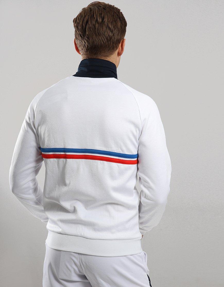 6e19b66ad6bc0 Sergio Tacchini Dallas Track Top White Royal Red - Terraces Menswear