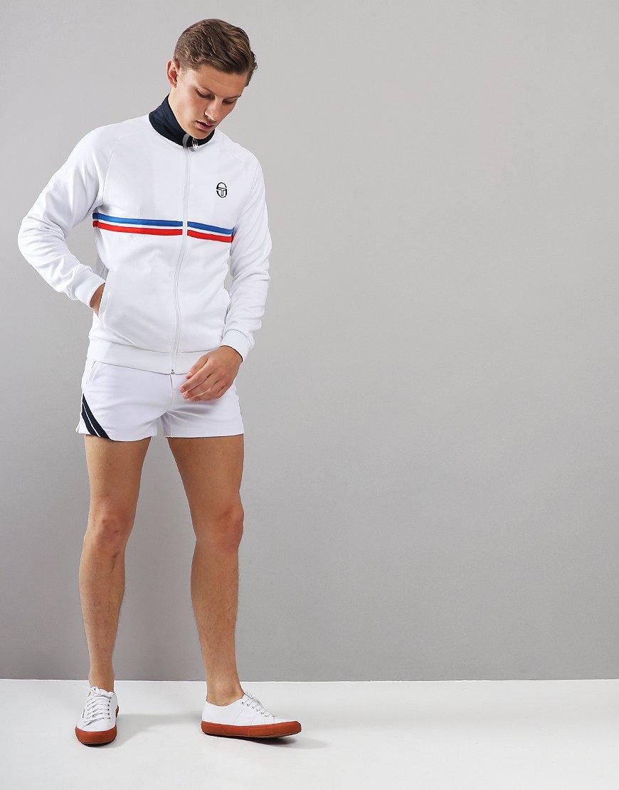 8c67db2b Sergio Tacchini Dallas Track Top White/Royal/Red - Terraces Menswear