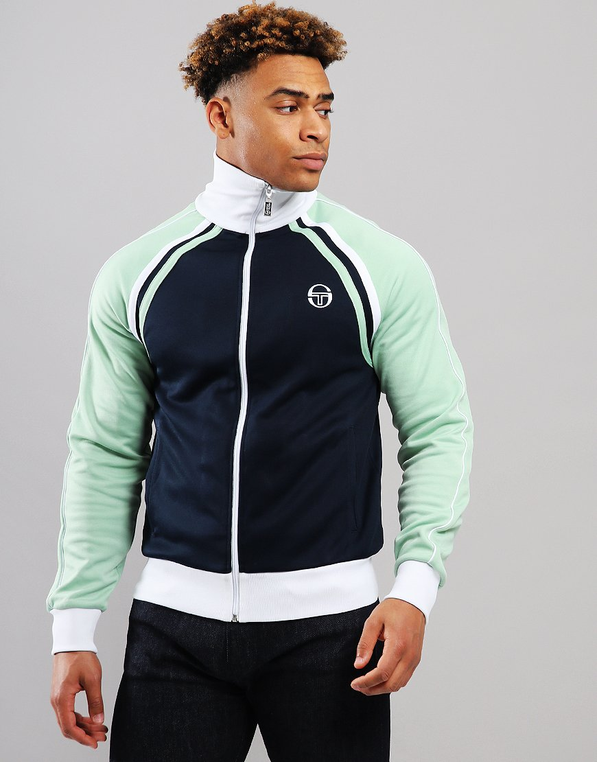 Sergio Tacchini Ghibli Track Top Navy/Quiet Green
