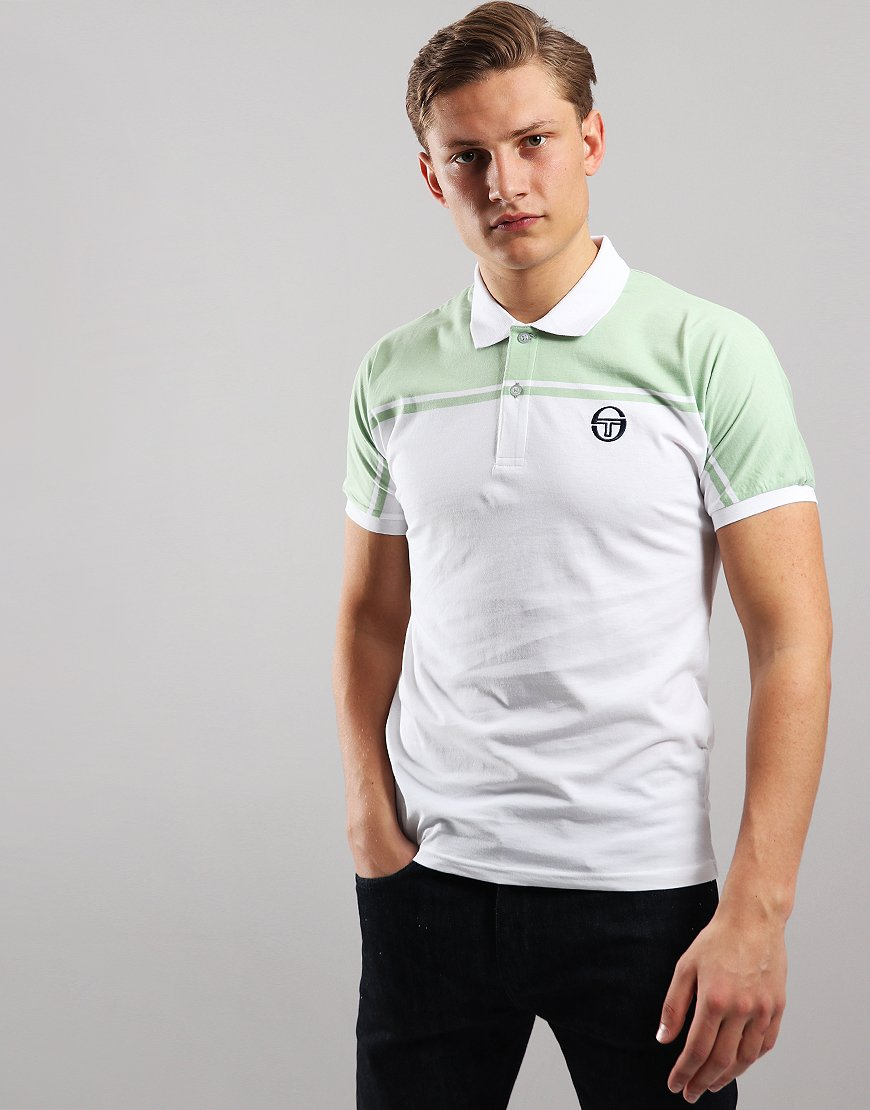 Sergio Tacchini New Young Polo Shirt White/Green