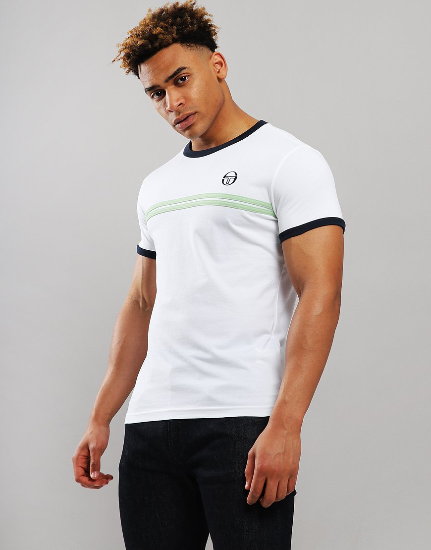 Sergio Tacchini Supermac 3 T-Shirt White/Green