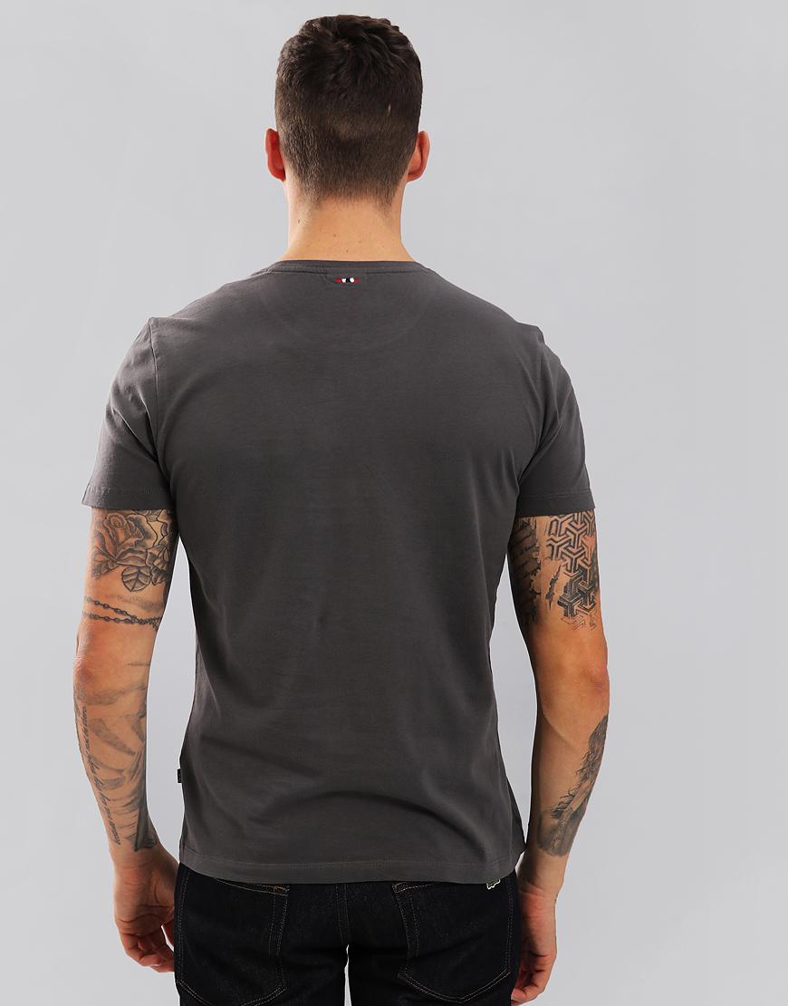 Napapijri Solin T-Shirt Dark Grey Solid