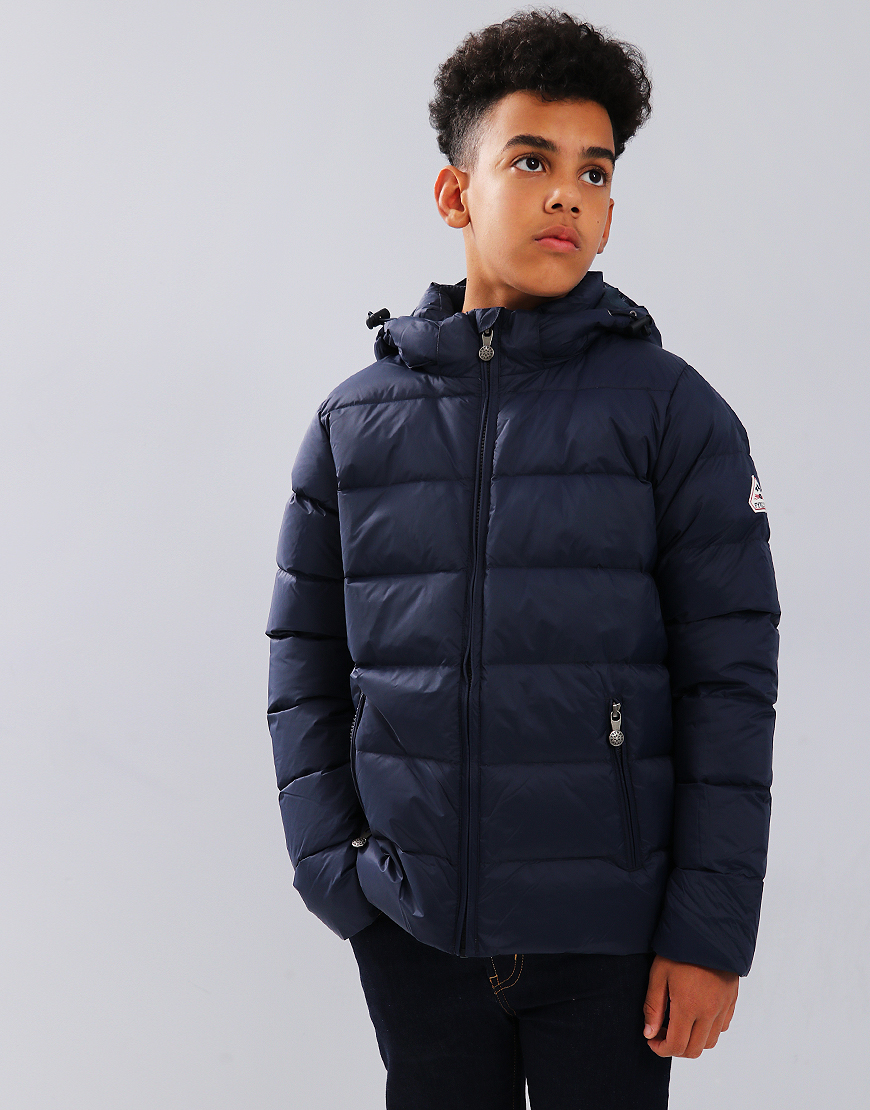 Pyrenex Kids Spoutnic Hooded Coat Amiral