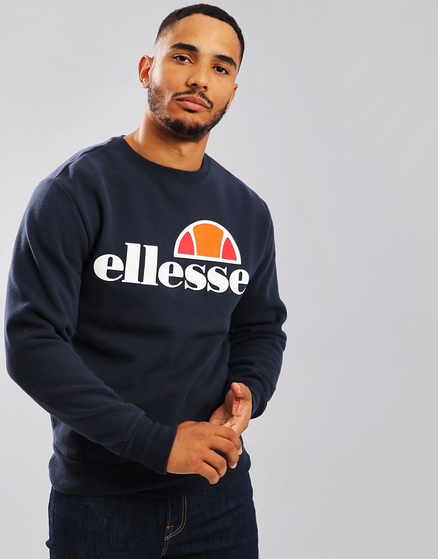 Ellesse Succiso Crew Sweat Dress Blues