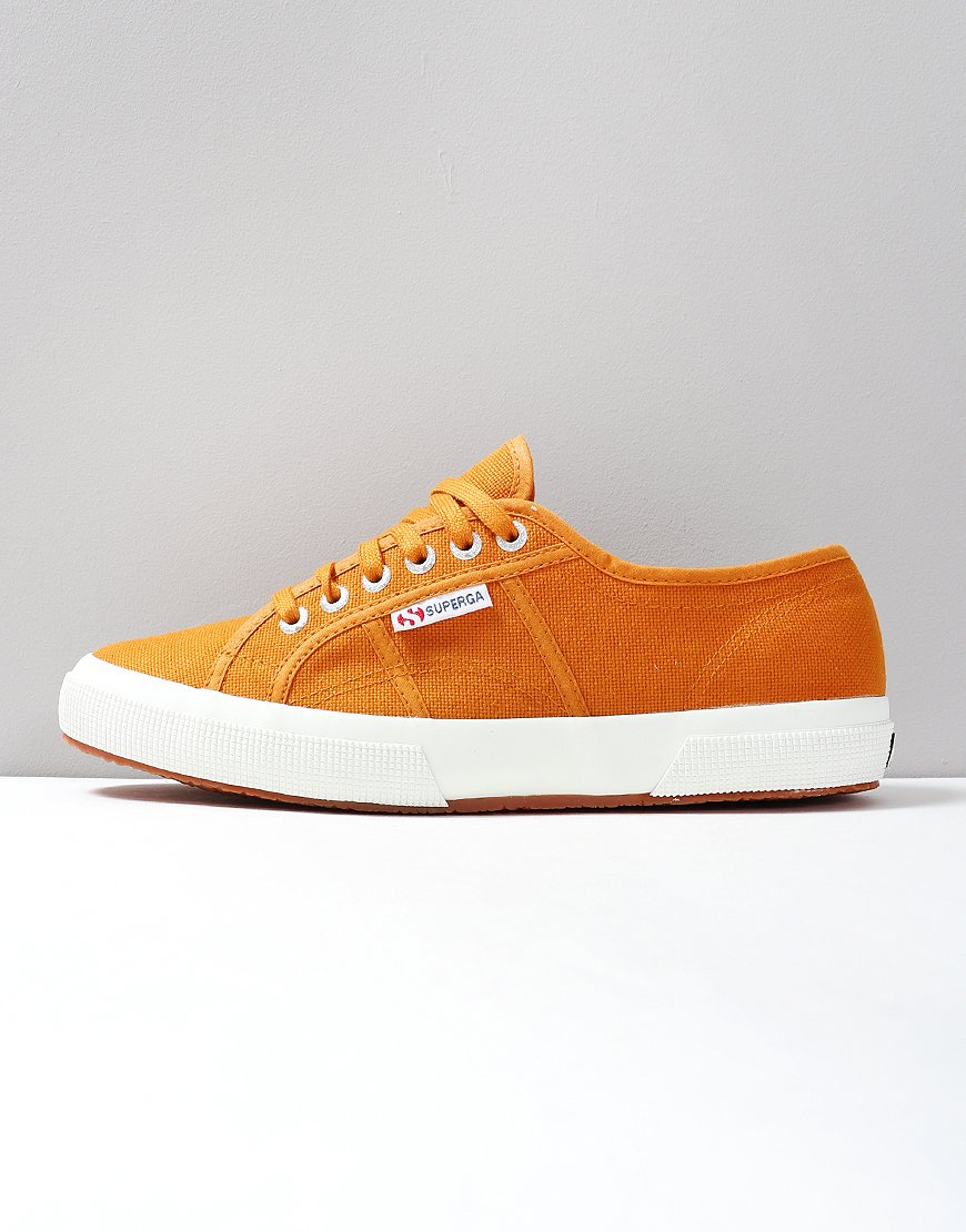 Superga Cotu Classic 2750 Canvas Trainers Brown Curcuma