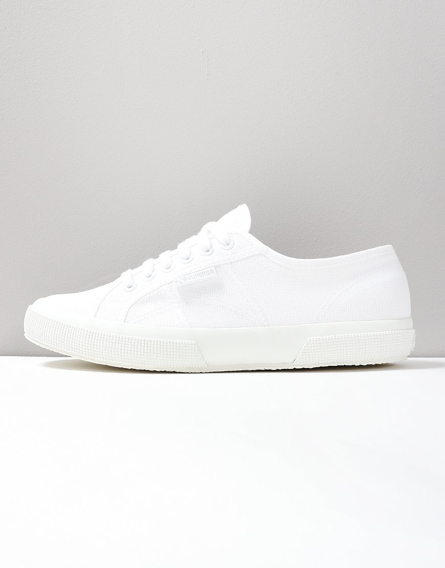 Superga Cotu Classic 2750 Canvas Trainers Total White