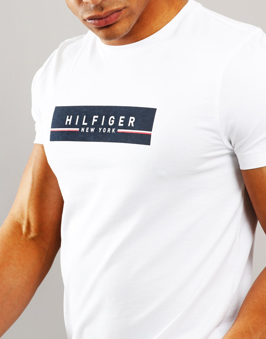 24a155545 ... tommy hilfiger corp box t shirt bright white terraces menswear ...