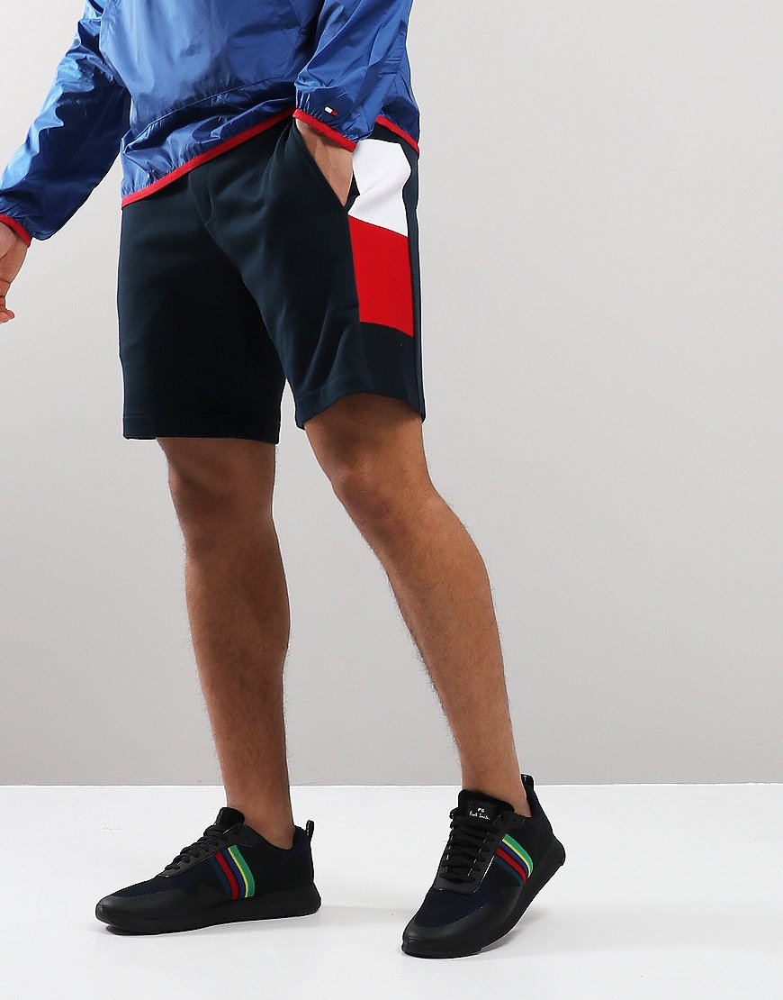 Tommy Hilfiger Flag Sweat Shorts Sky Captain