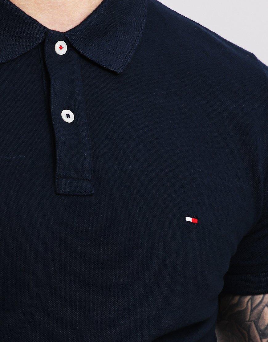 12f5c1ce0 Tommy Hilfiger Global Polo Shirt Sky Captain - Terraces Menswear