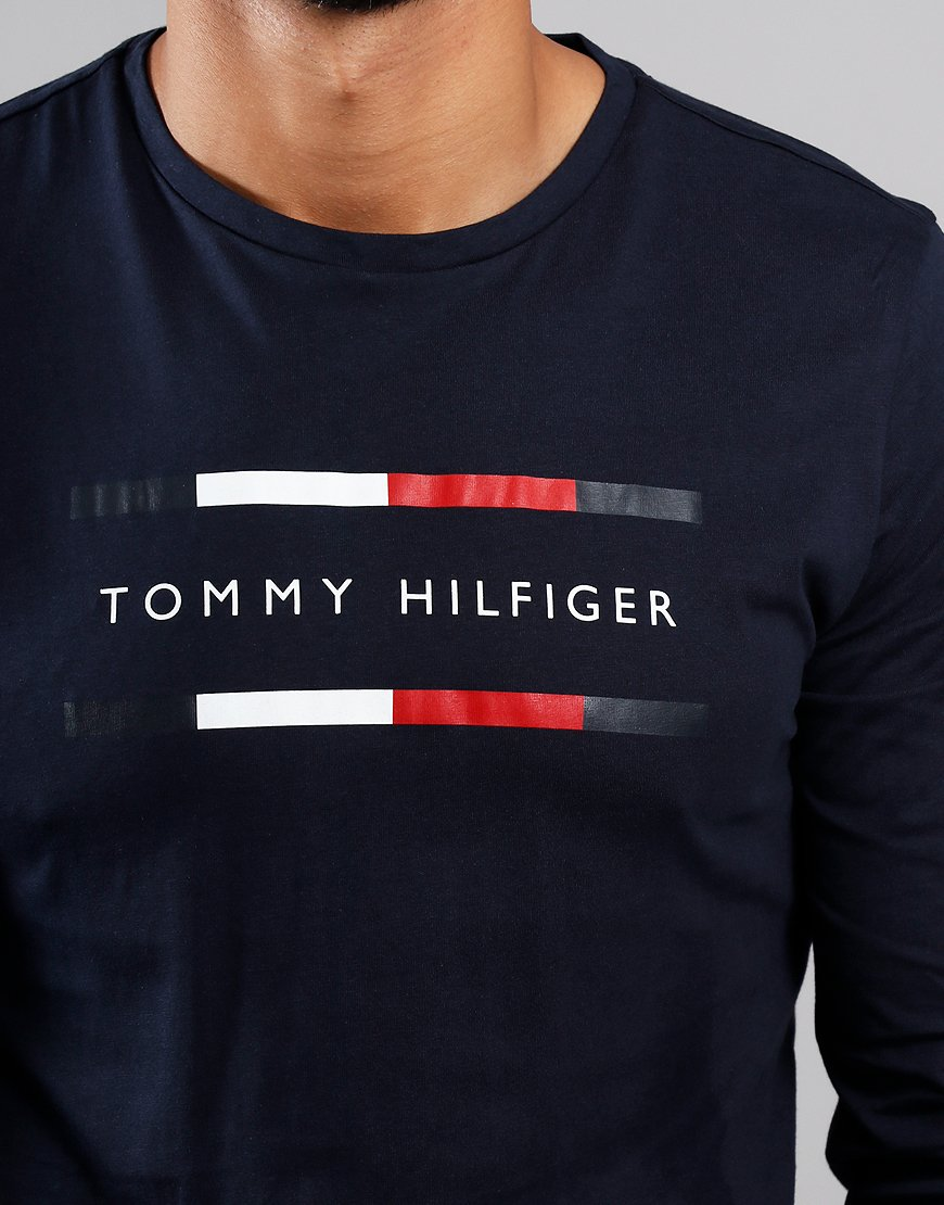 Tommy Hilfiger Long Sleeve Tommy T-Shirt Sky Captain