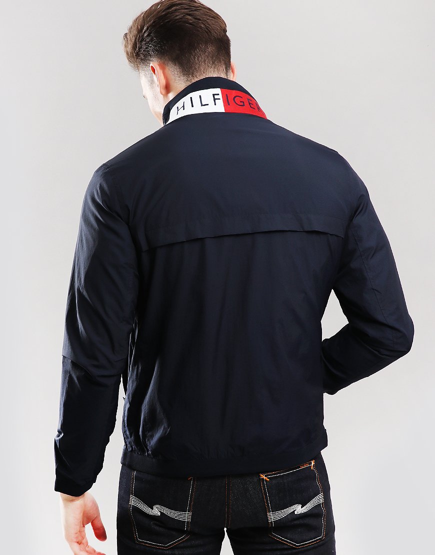 88bfdfe9 Tommy Hilfiger Signature Placket Bomber Jacket - Terraces Menswear