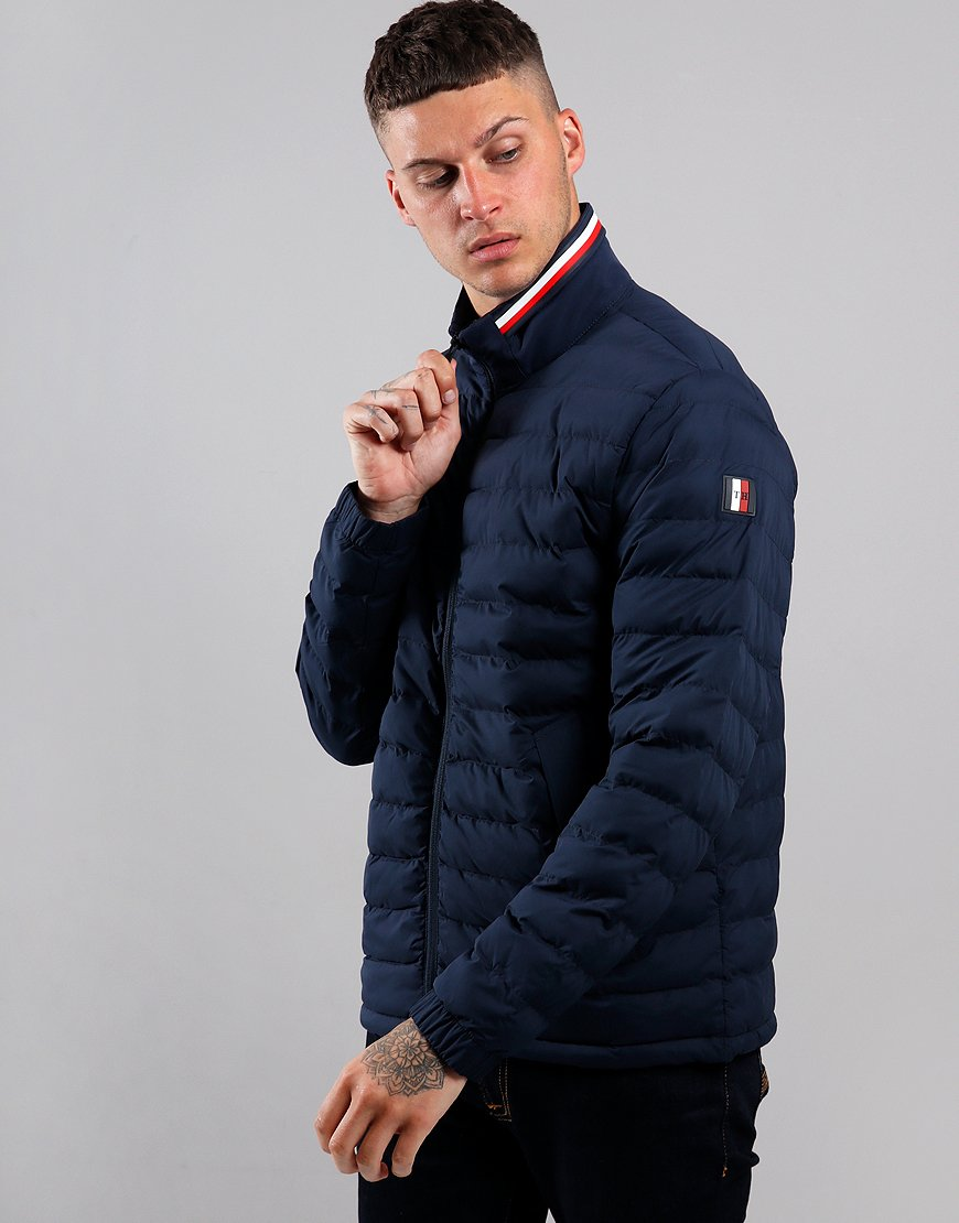 Tommy Hilfiger Stretch Quilted Jakcet Navy Blazer