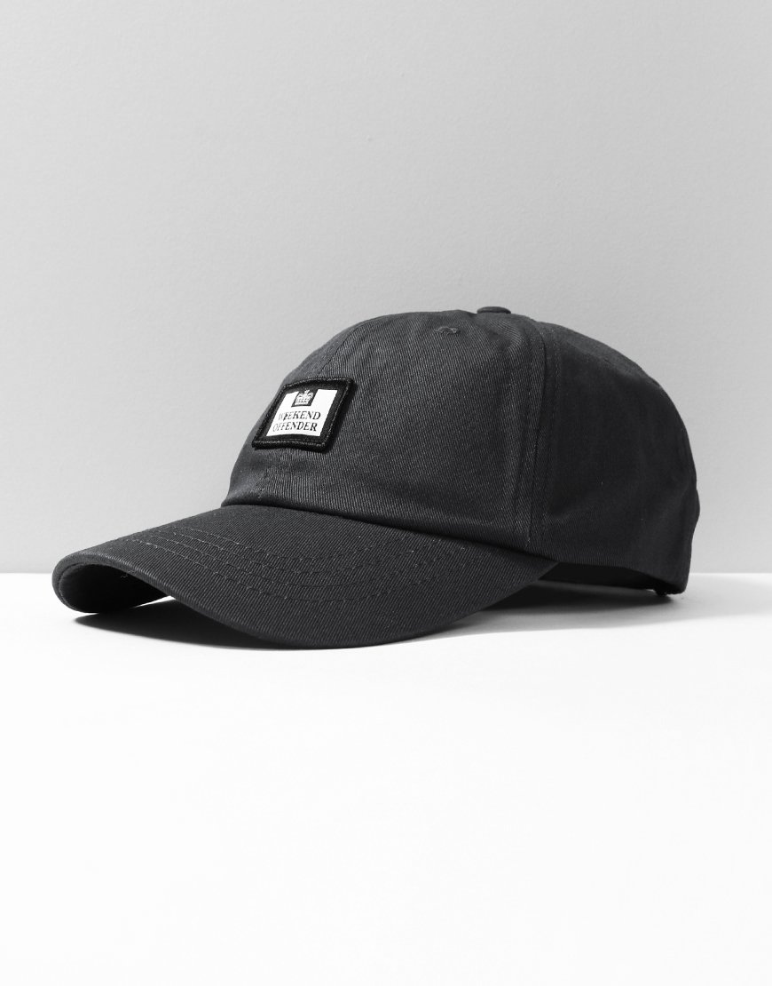 Weekend Offender Alma Cap Black