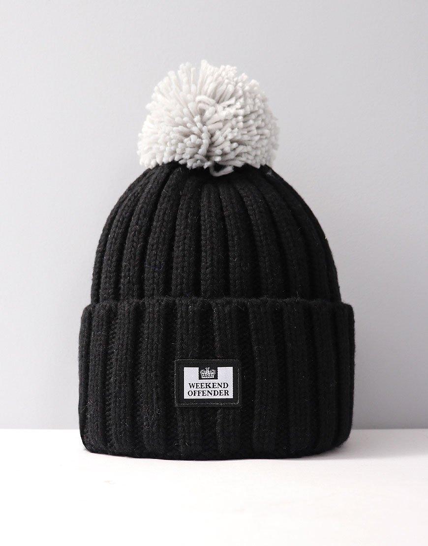 Weekend Offender Bambesi Bobble Hat Black