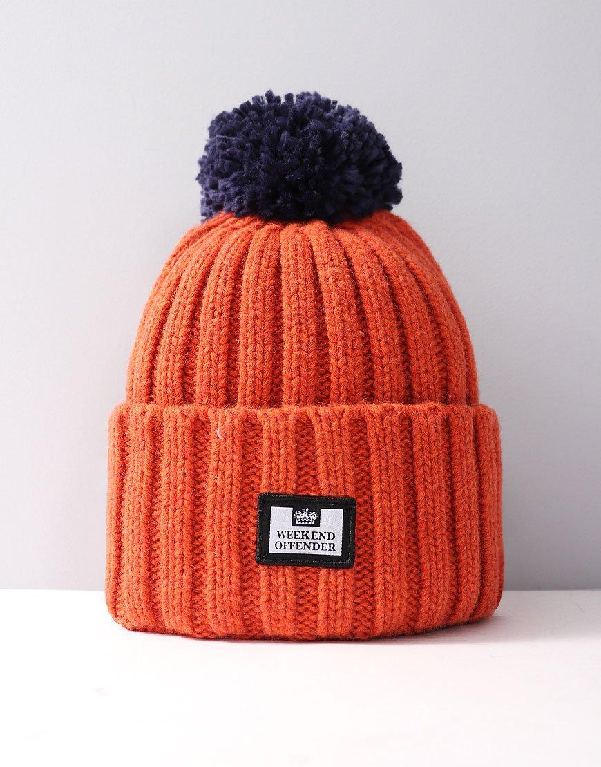 Weekend Offender Bambesi Bobble Hat Orange