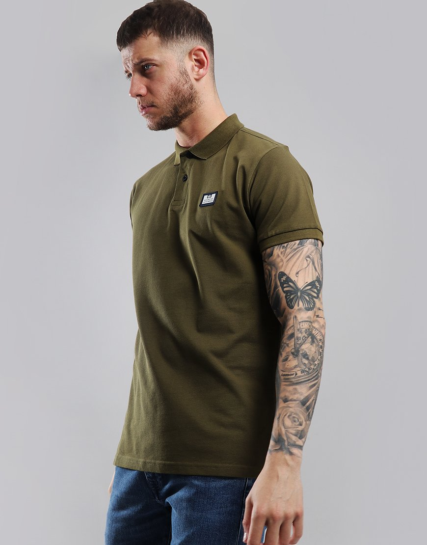 Weekend Offender Claudio Polo Shirt Conifer