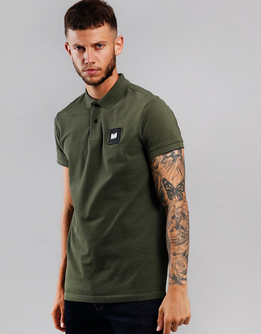 Weekend Offender Colombia Polo Shirt Alpine