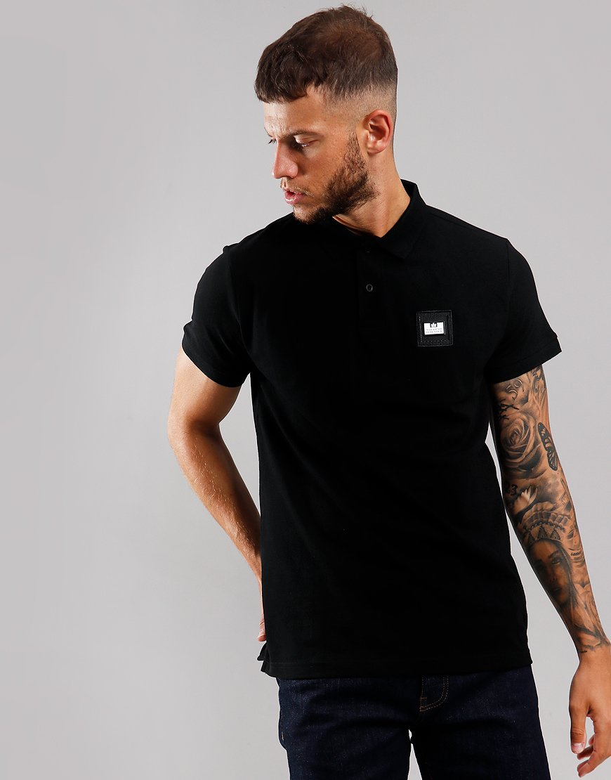 Weekend Offender Colombia Polo Shirt Black