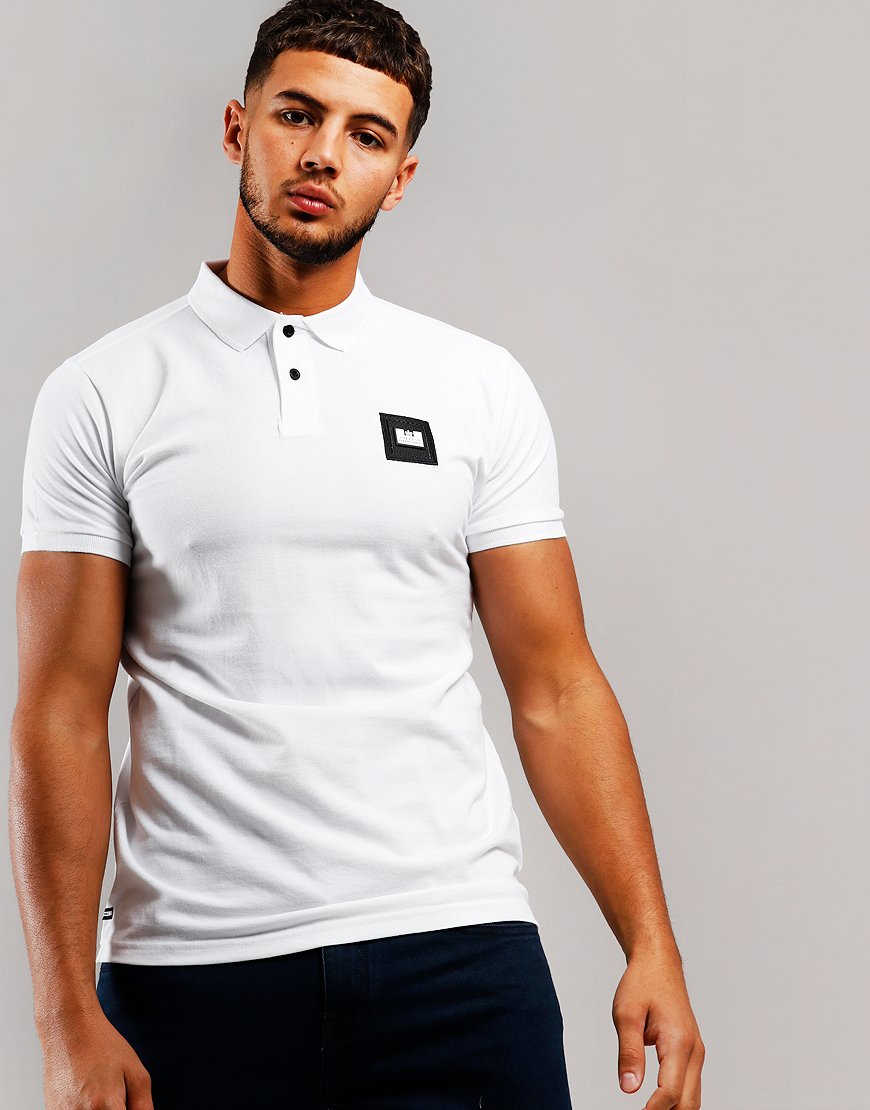 Weekend Offender Colombia Polo Shirt White