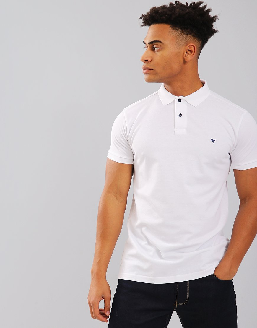 Weekend Offender Dove Polo Shirt White