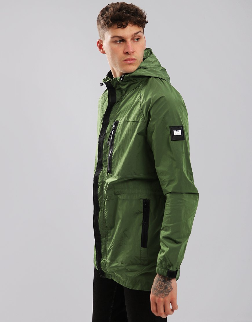Weekend Offender Duran Technical Jacket Moss