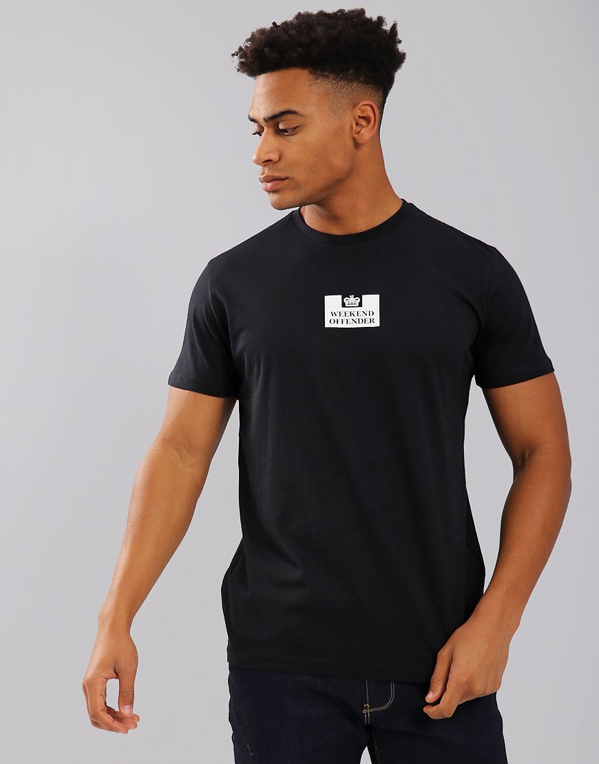 Weekend Offender Frampton T-Shirt Black