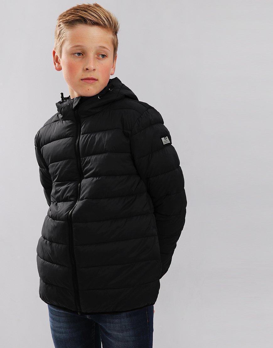 Weekend Offender Kids Frazier Quilted Jacket Black